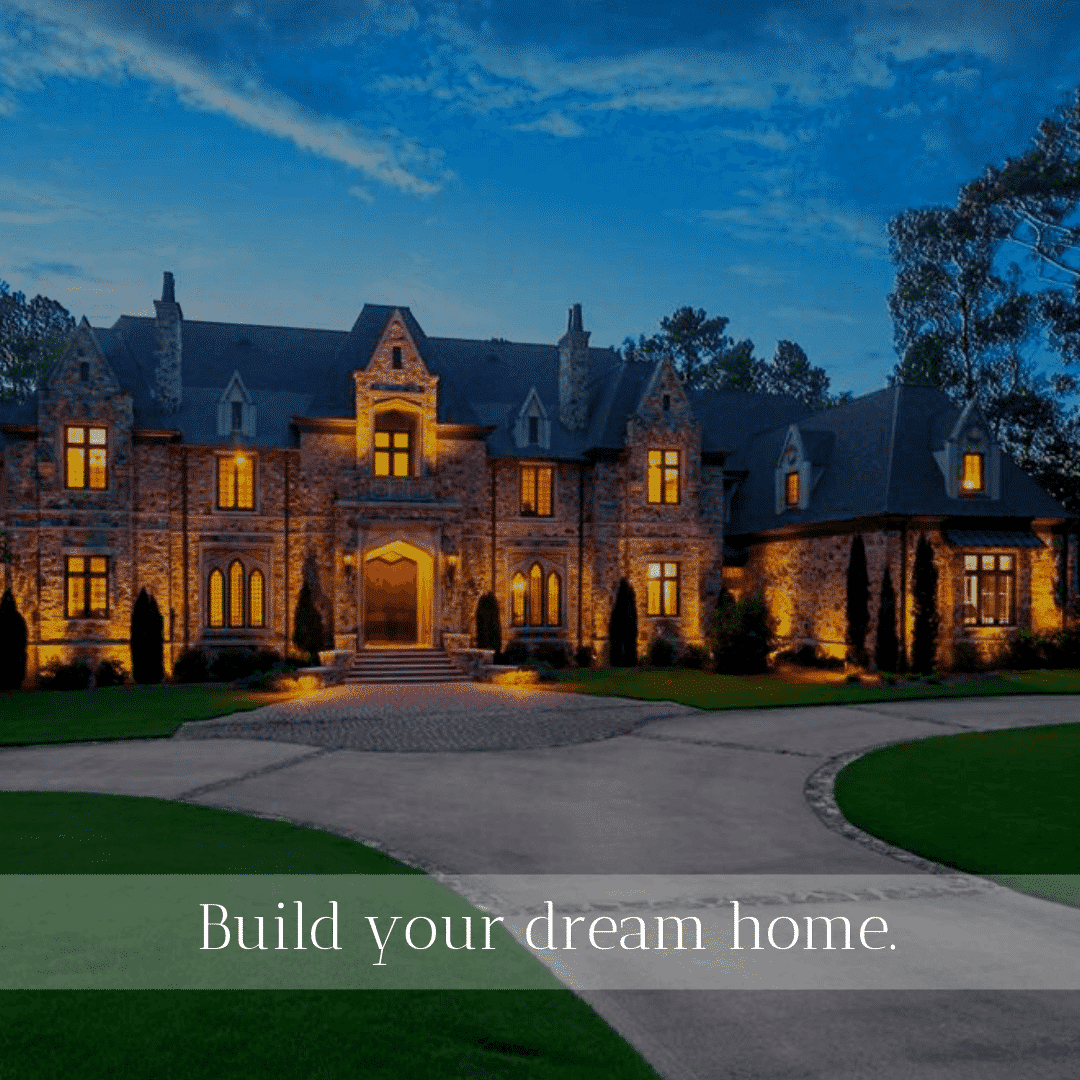 Build your dream home at Shoal Creek